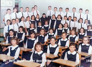 St. Mary Magdalen de Pazzi School 1960
