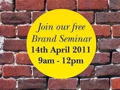 Brand seminar invitation