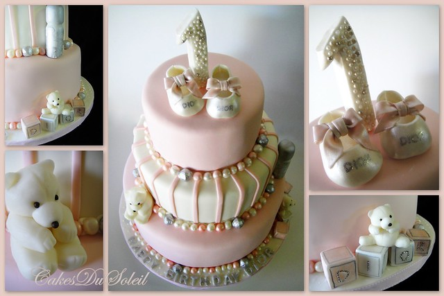 Baby Dior First Birthday Cake | Flickr - Photo Sharing!