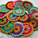 Crochet Embellishments by AnnieDesign