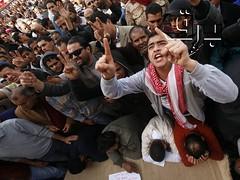 Muslimer protesterar mot pavebesok 3
