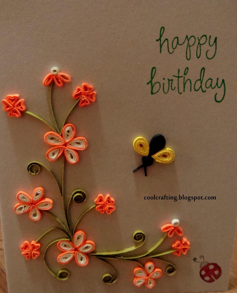 The most interesting flickr photos of happy birthday picssr happy birthday card orange flowers izmirmasajfo