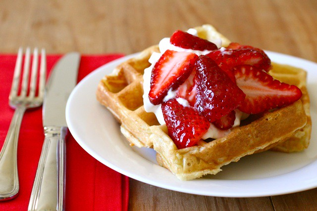 sourdough waffles 1 | Flickr - Photo Sharing!