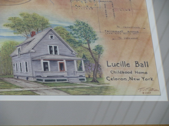 Lucille Ball Childhood Home Celoron New York Flickr