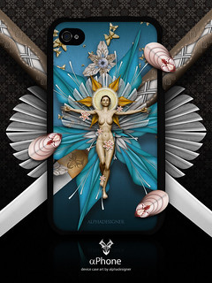 αPhone Artworks [Calliope Crucified iPhone 4 Case]