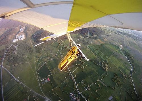 Volando en Arcones