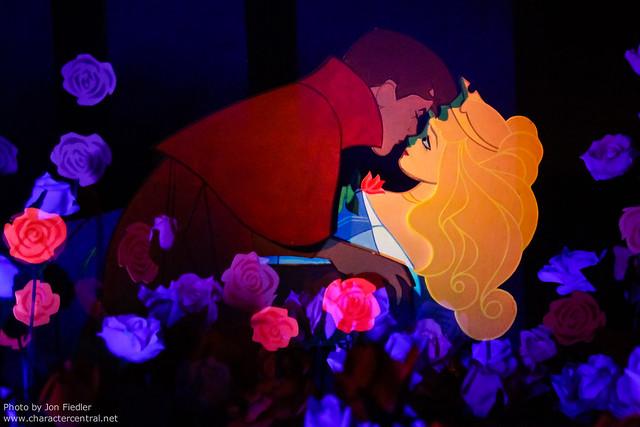 Disneyland Aug 2010 - Sleeping Beauty Castle Walkthrough