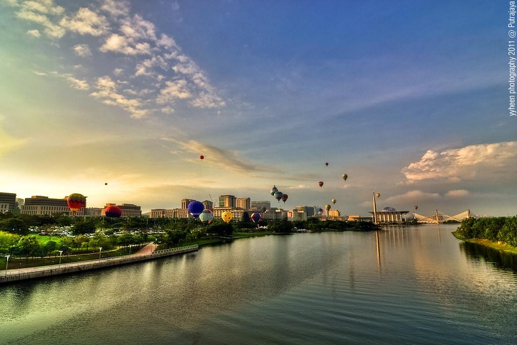 Lake in Putrajaya