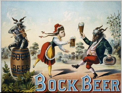 1882 Jan 24 Bock Beer Lithograph by carlylehold
