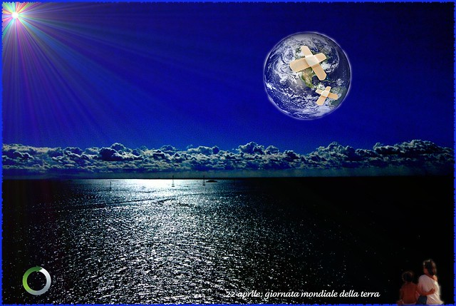 Take heart: the earth is sick but it is up to us to heal !!!