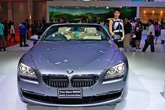 BMW 640i Convertible at the 32nd Bangkok Motorshow