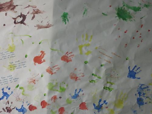 mural de la Escuela Infantil colorines