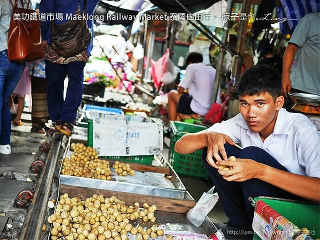 美功鐵道市場 Maeklong Railway Market 泰國自由行 3