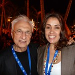 Ines meets Frank Gehry in person