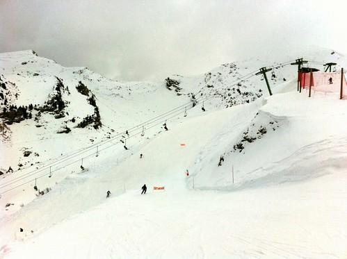 Châtel Ski Area in Portes du Soliel Ski Domain, France