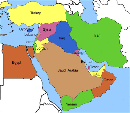 Fox news shows Iraq as Egypt on world map Flickr Photo Sharing
