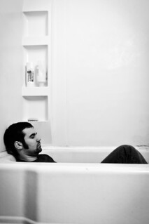 Waiting for Rain (2011) - A Self-Portrait of the Author Lying in a Bathtub