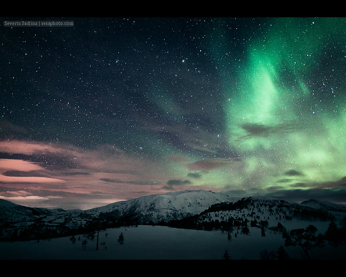 Northern Lights over Stakkslettbua