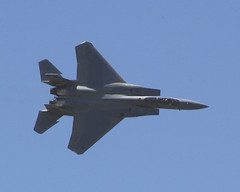 lockheed martin f-22 raptor, aviation, airplane, wing, vehicle, fighter aircraft, jet aircraft, bomber, air force, air show,