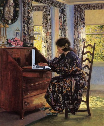 Blogger, after Guy Orlando Rose