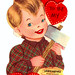 Vintage Valentine: Axing You by pageofbats
