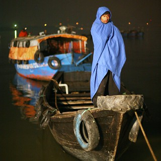 The lonely boatman