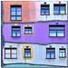 An eccentric facade