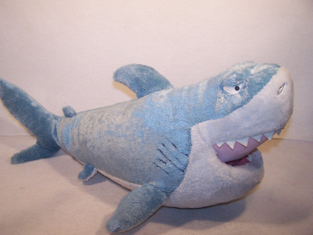 Disney Finding Nemo Bruce Shark Plush A Photo On Flickriver