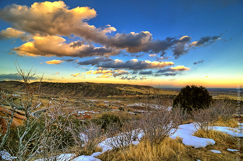 winter sunset sky moon foothills snow mountains colors grass clouds landscape evening michael bush nikon colorado view hills micha plains morrison schaefer d300 redrockpark ptf plainsviewroad
