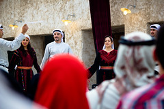 Dancing for the souq