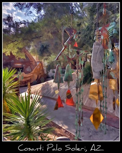 foundry gallery az historic paolosoleri sculptures cosanti windbell soleri causebells