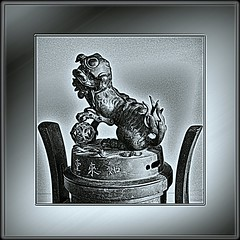 Oriental Dragon Figurine