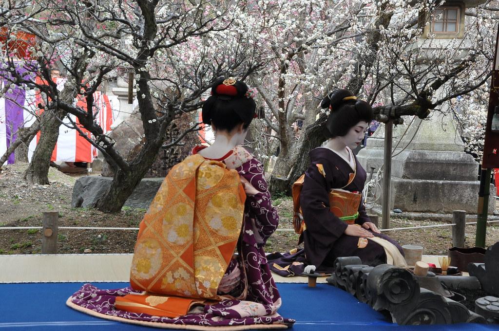 Tracking down maiko/geisha who wore your hikizuri! 5485620722_774e168e35_b
