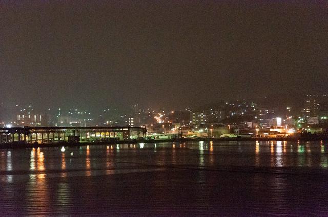 はまなすから見た小樽港