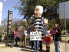 TLR Rally protesters in front of state capitol