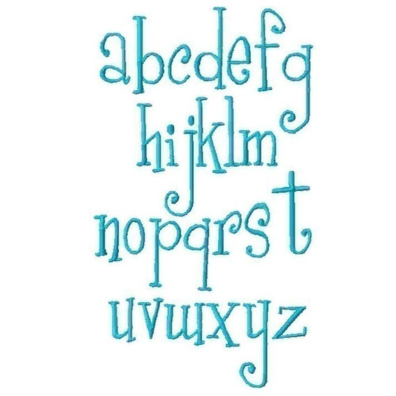 Girly Font - lowercase - this one is also great for girls ... Girly Fonts