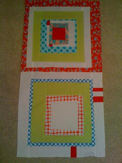 Red/Aqua Bee - for Holly