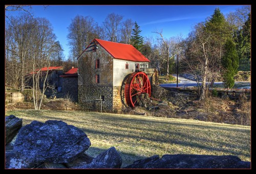 mill nc corn northcarolina historic gristmill topaz photomatix oldmills oldmillofguilford guilfordmill hdraddicted