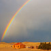 Rainbow over Burra Homestead by -yury-