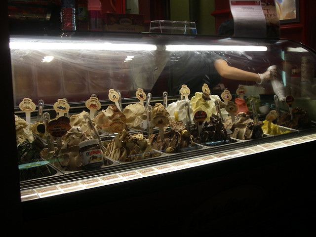 Gelatissimo on George Street, Sydney