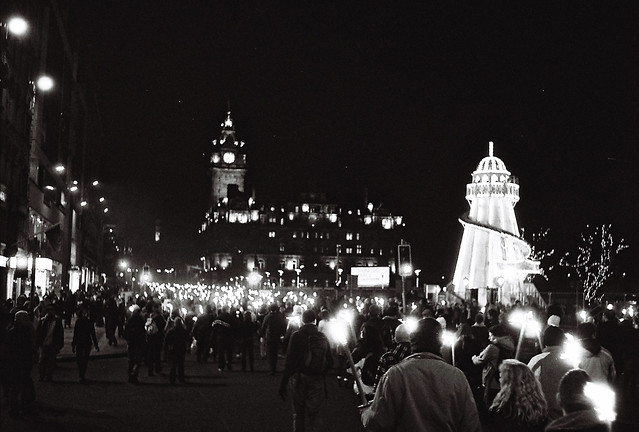 Torchlit Procession, Edinburgh