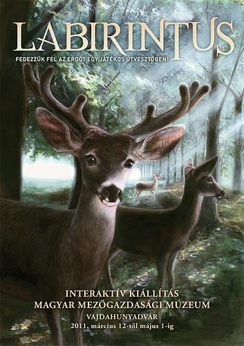 Labirintus - Fedezzük fel az erdő titkait egy játékos útvesztőben!