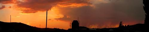 sunset panorama sun sol clouds mexico atardecer panoramic panoramica nubes zacatecas fuego guadalupe ocaso panorámica panoramik