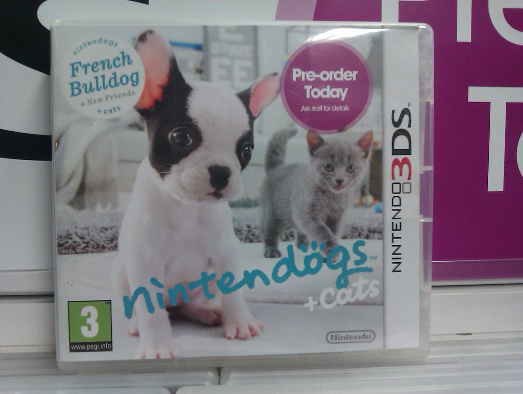 Nintendogs Cats Iso