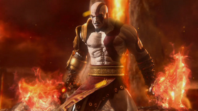 Kratos in Mortal Kombat