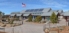 Solar panel systems, Grand Canyon Visitor Center Photovoltaic Panels