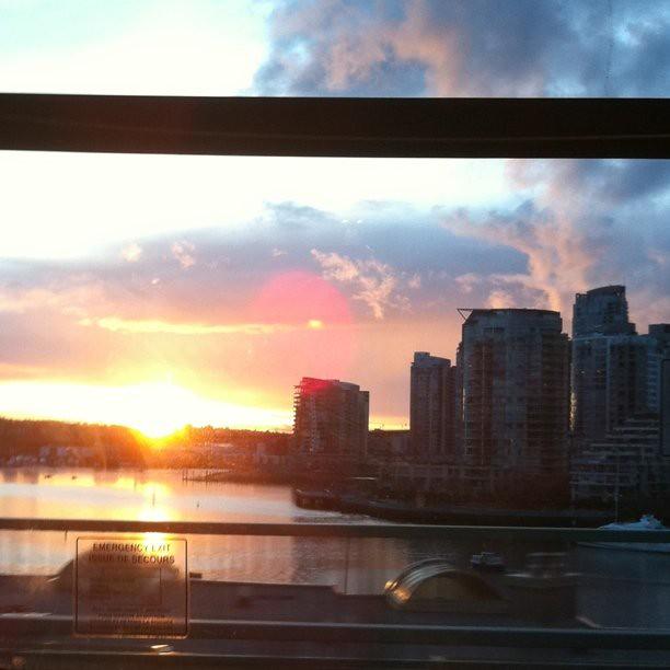 Transit Sunset