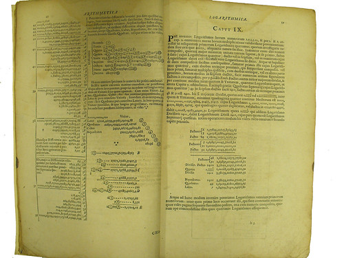 Text pages from Briggs, Henry: Arithmetica Logarithmica