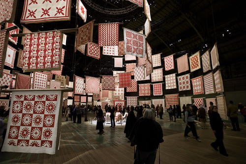 New York (Infinite Variety: Three Centuries of Red and White Quilts)