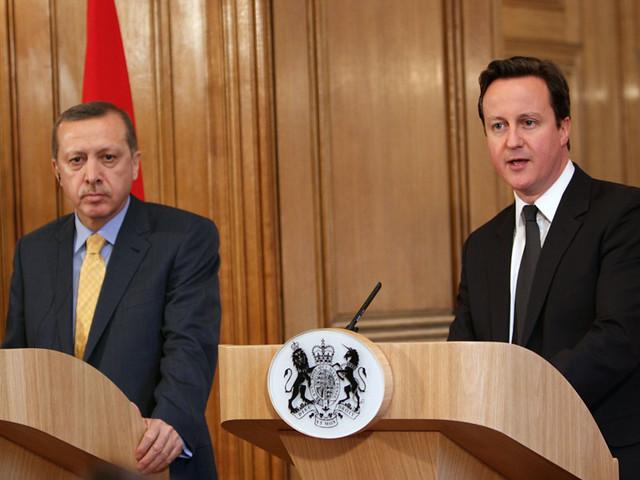 PM and Recep Tayyip Erdogan